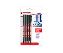Edding Çok Amaçlı Asetat Kalemi Karışık Renkler 4'lü