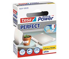 tesa Extra Power Tamir Bandı, Beyaz,2,75m*19mm