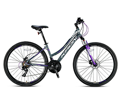 21 Vites 28 Jant Kadın Trekking Bisikleti