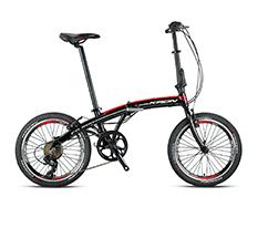 7 Vites 20 Jant Unisex Katlanır Bisiklet
