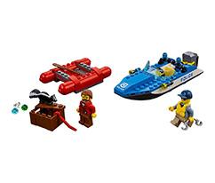 LEGO® City Vahşi Nehir Kaçışı