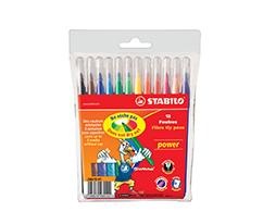 STABILO power 12 Renk Keçeli Kalem