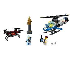 LEGO® City Gökyüzü Polisi İnsansız Hava Aracı Takibi