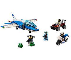 LEGO® City Gökyüzü Polisi Paraşütle Tutuklama