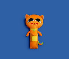 Happy Hop Buddyguard Emniyet Kemeri Arkadaşı Kedi Minny