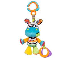 Playgro Munchimal Peluş Aktivite Oyuncağı - Zebra