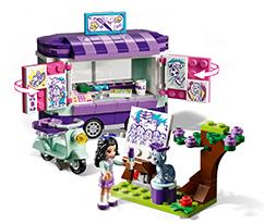 LEGO® Friends Emma'nın Sanat Standı