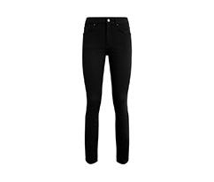 Siyah Basic Boru Paça Pantolon