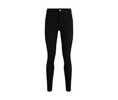 Siyah Basic Skinny Pantolon