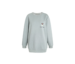 Gri Coffee Salaş Sweatshirt
