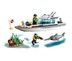LEGO®City®Dalış Yatı