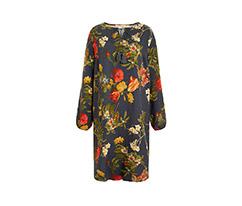 Renkli Bohem Çiçekli Elbise