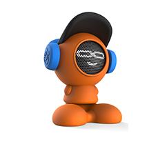 Turuncu iDance Beat Dude Bluetooth Hoparlör