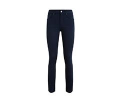 Lacivert Basic Boru Paça Pantolon