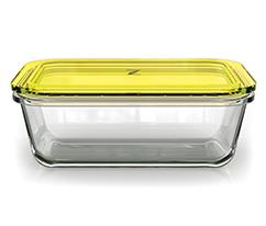 Paşabahçe Zest Saklama Kabı & Rende Sarı