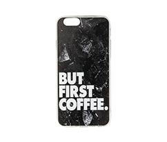 But First Coffee IPhone 6-6s Silikon Telefon Kılıfı