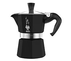 Bialetti Moka Pot 1 Cup Ekspress, Siyah