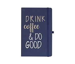 Coffee Good Idea Lacivert Defter