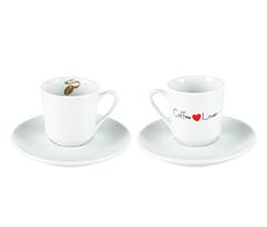 Beyaz Türk Kahvesi Seti