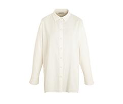 Kırık Beyaz Geniş Kesim Gömlek
