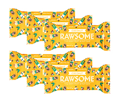 Rawsome Hindistan Cevizi Vegan Meyve Barı,6'lı