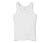 Beyaz Organik Pamuklu Kolsuz Tişört
