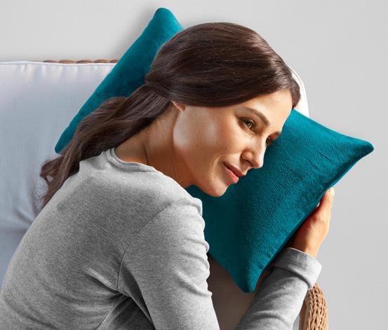 Relaxační polštář, tyrkysový