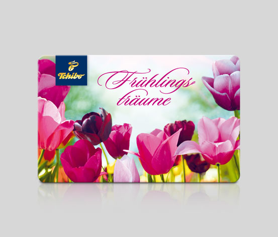 Geschenkkarte Frühlingsträume