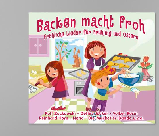 "CD ""Backen macht froh"""