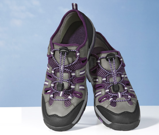 Damskie miękkie buty trekkingowe