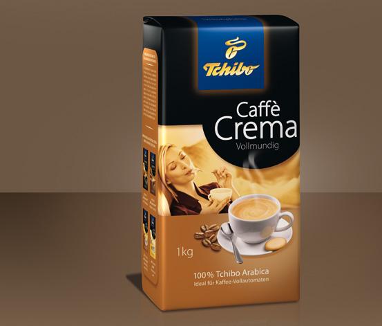 Caffè Crema Vollmundig - Ganze Bohne
