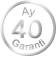 40 AY GARANTİ