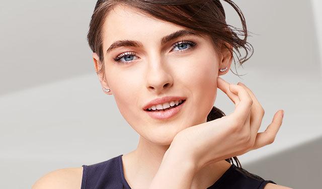 Ohrhänger NEU Ohrringe lang silber Topf elegant Modeschmuck trend style