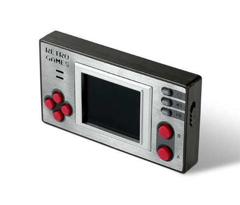 Minikonsola do gier w stylu retro