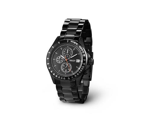 Pánske náramkové hodinky, chronograf z ušľachtilej ocele