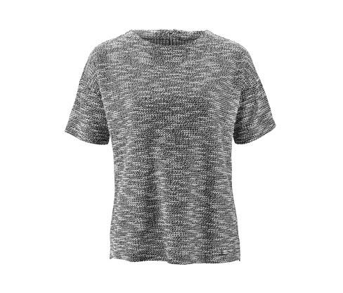 Halbarm-Sweater mit besonderem Farbeffekt