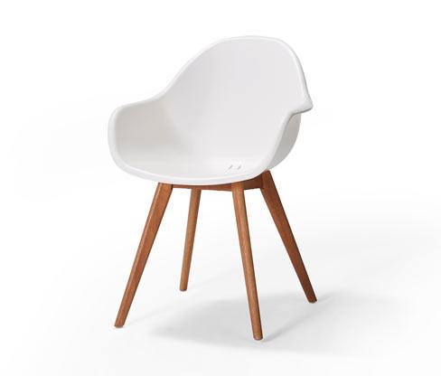 Skořepinová židle
