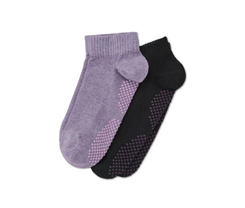 Ponožky na jógu, 2 páry