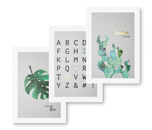 Plakaty, 3 sztuki