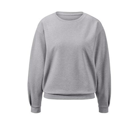 Sweatshirt à manches ballons