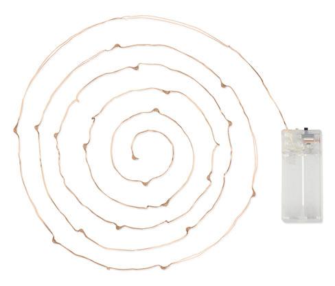 Micro-LED-Lichterkette, Tropfen
