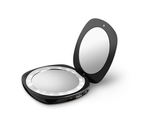 Kosmetikspejl med ekstra batteri »Powerbank«