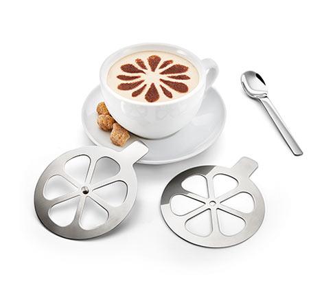 2 Cappuccino-Schablonen