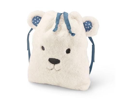 Měkoučký batoh »Polární medvěd«