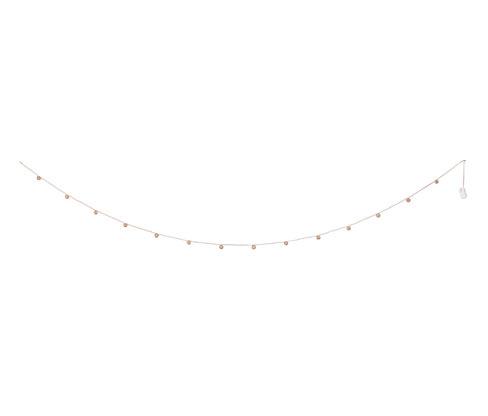 Světelný řetěz s LED Kuličky z měděného drátu