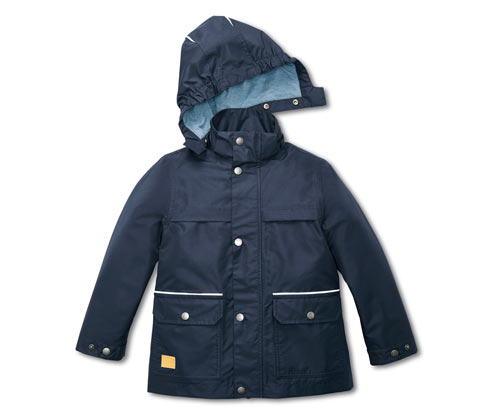Fiú kabát minden időjárásra, sötétkék