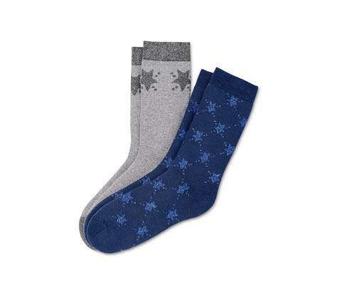 2 paires de chaussettes moelleuses