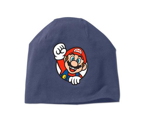 Žerzejová čepice Super Mario