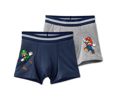 Organik Pamuklu Slip Boxer »Super Mario«