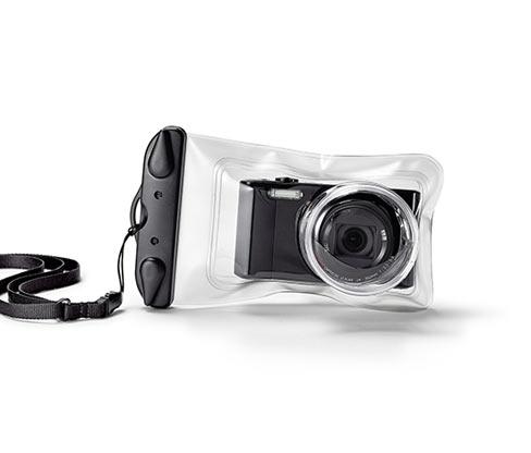 Wodoszczelny pokrowiec na aparat fotograficzny do ok. 11 x 7 cm
